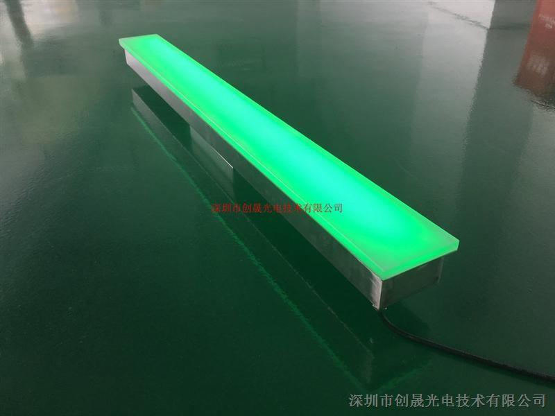 不锈钢LED长条地砖灯 户外广场灯具厂家
