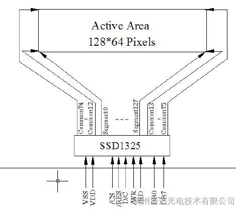维信诺vgg12864z-s003 ,oled显示屏