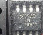 全新原装正品 LM1881 LM1881M LM1881MX SOP8 视频信号同步分离器