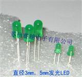 优质发光二极管5MM绿色LED