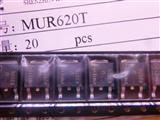 MUR620T ON正品原装MUR620T快恢复二极管 TO-252