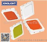 欧司朗osram3030彩光RGB LED单科1W灯珠色彩混合彩光照明应用
