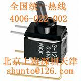三档钮子开关厂家NKK Switches微型摇头开关G-13超小型钮子开关G-13AV