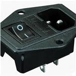 电源插座_三合一电源插座_带保险盒