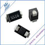 SS16 SMA贴片小功率肖特基二极管专业生产厂家现货