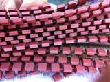 方形圆形熔断8.5*4*8 保险丝250V系列红色黑色 8*8慢断保险丝