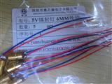 5V镭射灯 6MM外径 激光二极管 点状铜材半导体激光管