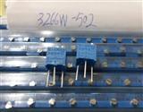 电位器3266W-1-502 5K 顶调 精密可调电位器 直插电位器3266
