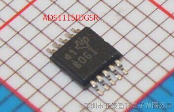 维库电子市场网 元器件 集成电路(ic) 其他ic  型号: ads1115idgsr