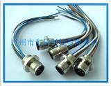 M12工业插座|M12连接器插座