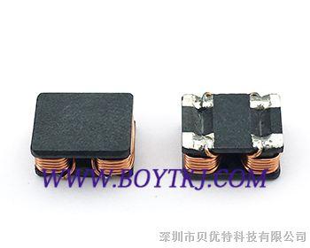 贴片共模电感btr766032-10uh四脚双绕阻贴片电感 功率