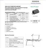 DESD5D5VB保护二极管ESD管ESD静电阻抗器静电保护管电子原件生产厂家