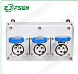 工业插座箱 防水工业配电箱检修箱 电源开关箱