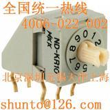 日本nkk开关型号NDKR10H现货ND-KR10进口编码开关10位旋转编码开关8421码编码器