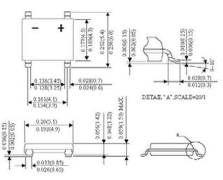 表贴桥式整流器_abs10桥堆二极管厂家