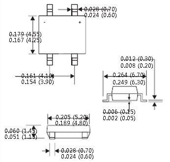 双向二极管在电路板上的符号