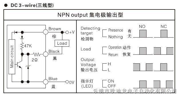 欧迪龙 电感式接近开关 lj12a3-2-z/by 接近传感器