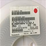 代理原装松下贴片排阻EXBS8V102J 0805 8P4R 1K