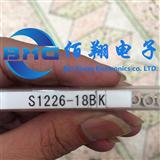 HAMAMATSU滨松 S1226-18BK 硅光电二极管 硅光电池DIP-2金脚原装