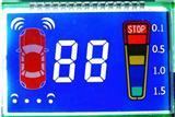 晶立威电动车LCD显示屏TN负显彩屏
