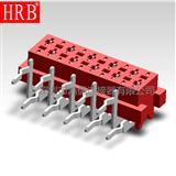 1.27红色IDC刺破连接器_1.27红色插板插座刺破连接器
