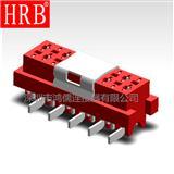1.27红色IDC板端连接器_1.27DIP板端连接器