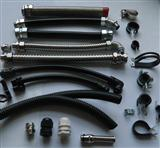 AD28.5阻燃防水波纹管  护线波纹管  双开口穿线波纹管 汽车线束保护套管