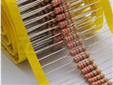碳膜电阻0.5W4.7MJ铜脚 现货,插件电阻CF/RT 1/2W 4.7M 5% 现货