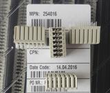 ERNI恩尼DE型2毫米200针弯脚式PCB海底通信连接器124686