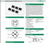 LC03-6.TBT  LC03-3.3TBT大功率低容值瞬变二极管阵列TVS