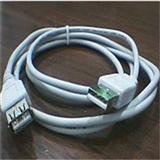现货USB线 一头公--头母 USB延长线 XD