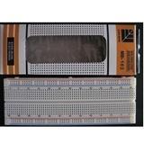 MB-102 优质面包板 线路板 实验板 万能板 830孔 165×55×10mm  XTW