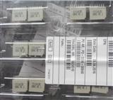 ERNI恩尼户外对讲机1.27毫米母型12针PVC电缆连接器168304 168305 168306