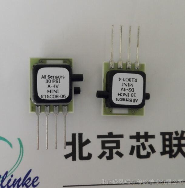 供应All Sensors医疗多功能护理仪MLV补偿型低电压压力传感器MLV-030D(±210Kpa)