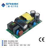 超宽电压输入 12V5W高可靠性电源 AC-DC电源模块 工业级智能电源