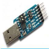 六合一多功能串口模块CP2102 usb转TTL 485 232互转 3.3V/5V兼容  XTW