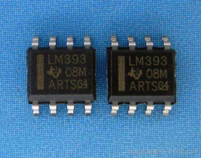 lm393 双电压比较器集成电路