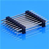 2.0双排针 PIN HEADER 双层塑胶 180度 特思嘉原装现货
