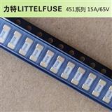 美国力特保险丝/0451015.MRL/用于电源设备,工业设备等的贴片保险丝0451015