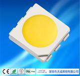 天成照明 5050自然白LED�糁� �N片式LED中性白自然白�糁� �c光源用5050�N片LED�l光二�O管