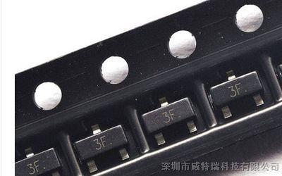 供应原装BC857B 三极管 SOT23 0.1A 45V PNP贴片三极管