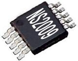 音频功放IC:NS2009:I2C 接口4 线制电阻式触摸屏控制集成电路IC 替代XPT7603