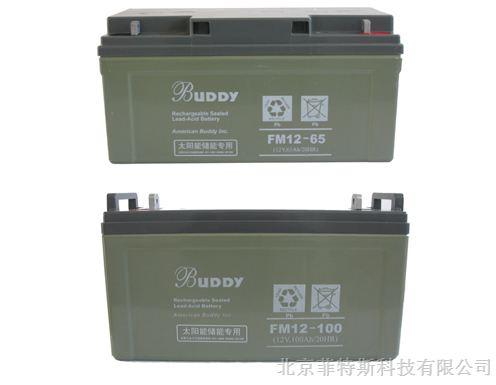 buddy宝迪蓄电池6-fm-120 12v120ah/20hr规格参数