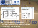 BL8569 贝岭原装 72dB@1KHz  500mA x 2 CMOS型低压差线性稳压器