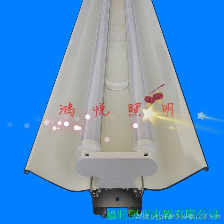 供应超市LED线槽桥架灯足1.0厚6米长LED走线灯