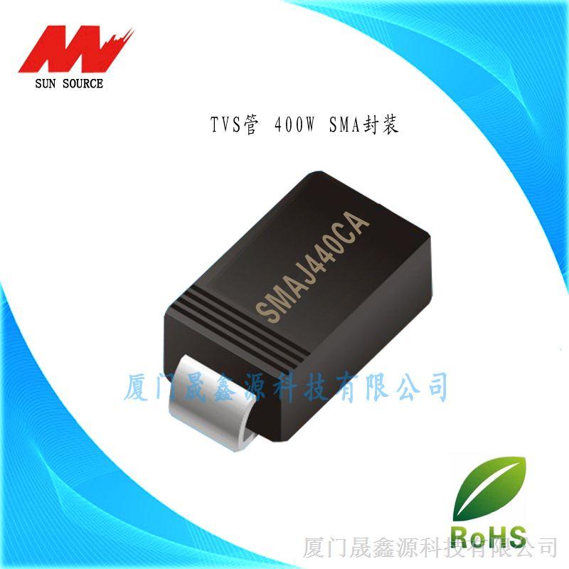 瞬�抑制二�O管TVS管SMAJ5.0A/CA-SMAJ440A/CA SMA封�b可用于智能家�,�源��樱�照明等多�I域