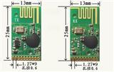 2.4G 内含MCU及遥控程序 学习码无线遥控模块JF24D-TX/RX