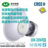 深圳厂家美国普瑞芯片LED工矿灯 集成120w厂棚灯厂家