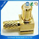 MCX 射频同轴连接器 转接器 公头母头 可接受定制 厂家直销 黄铜镀金材质