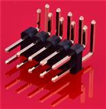 优质排针2.54 双排排针 单排排针 弯脚排针